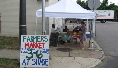 SHARE Farmer's Market Now Open!