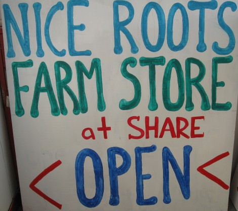 SHARE's Nice Roots Farm Store Now Open For Business