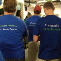 Deloitte – Our Volunteers of the Month!