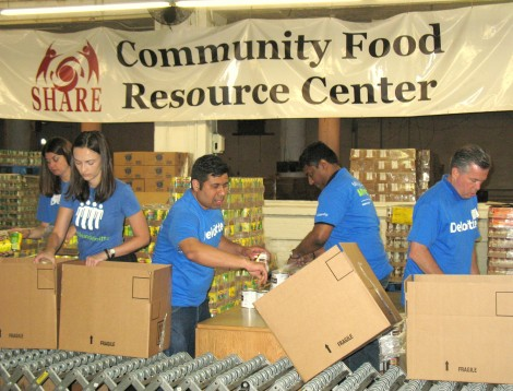 Deloitte volunteers make a real impact